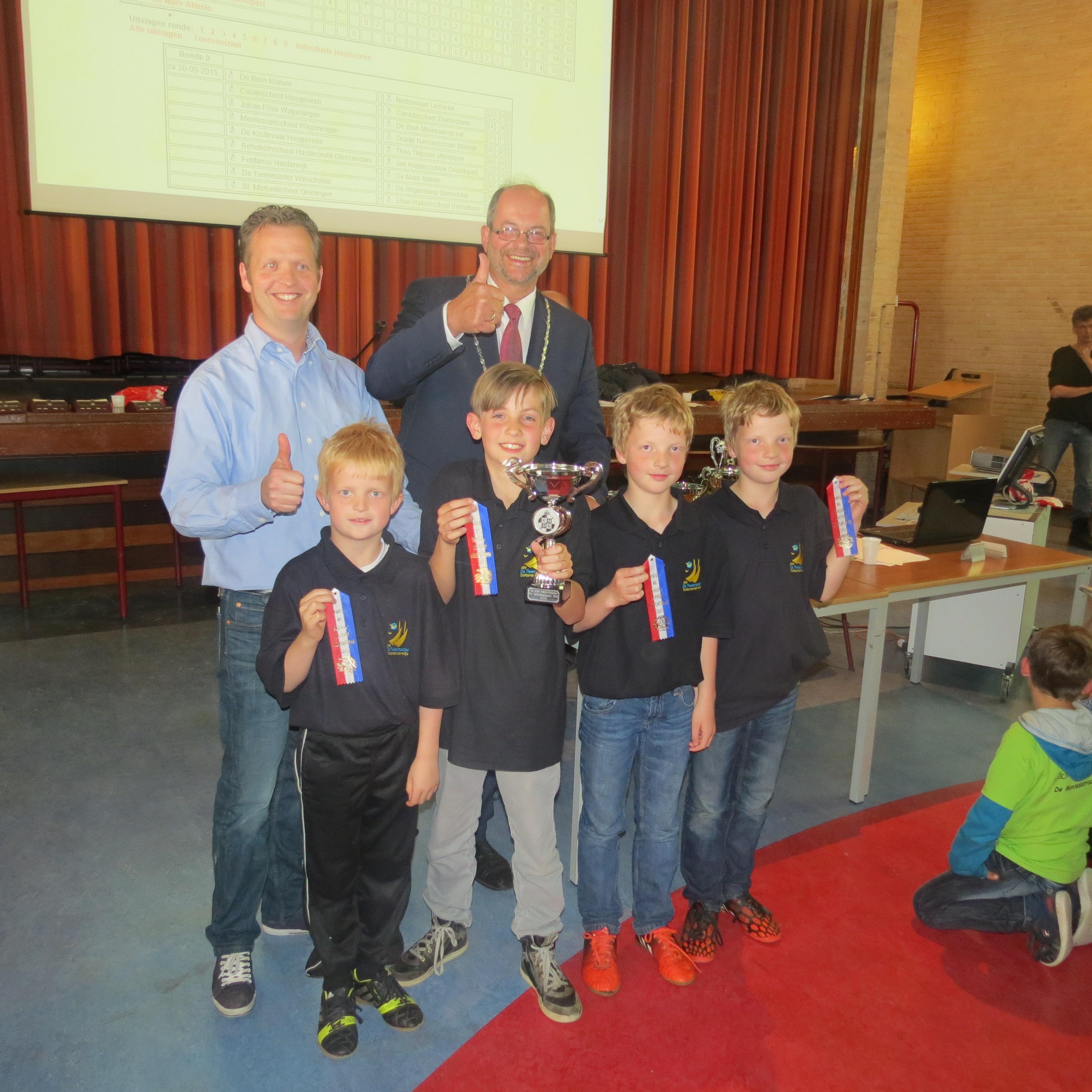 Jeugddammers Oost Groningen succesvol bij Frieslandcup in Drachten